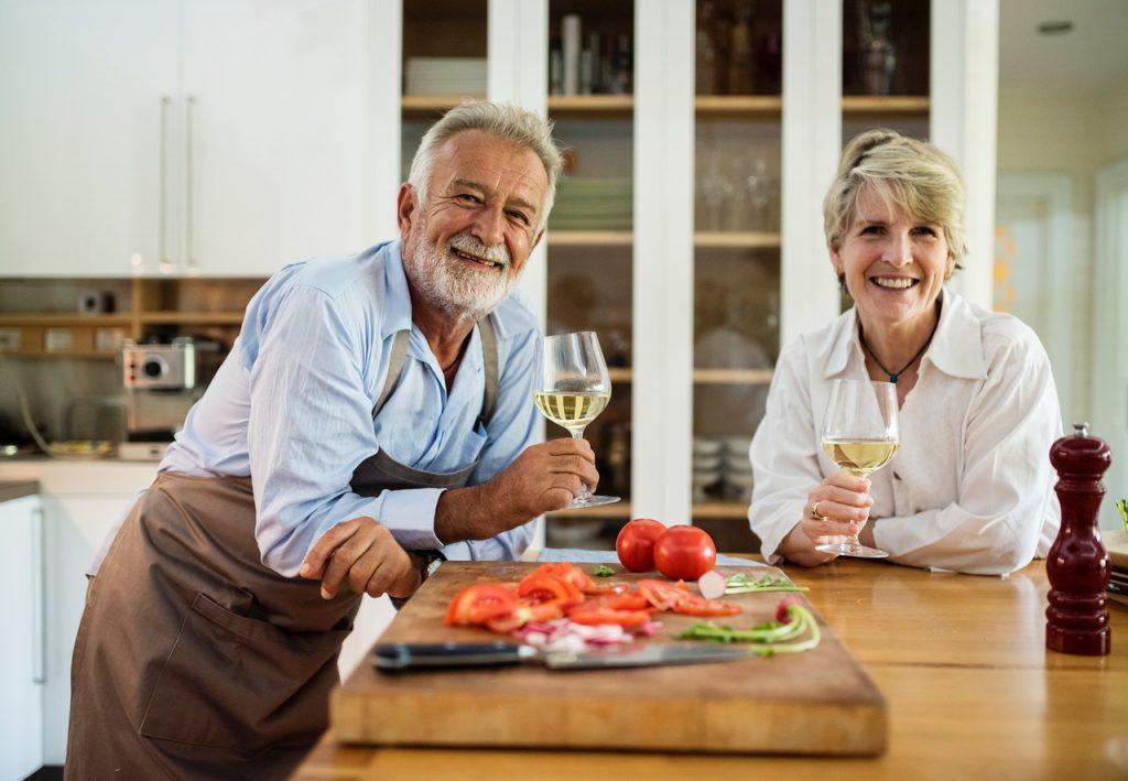 two people european foods