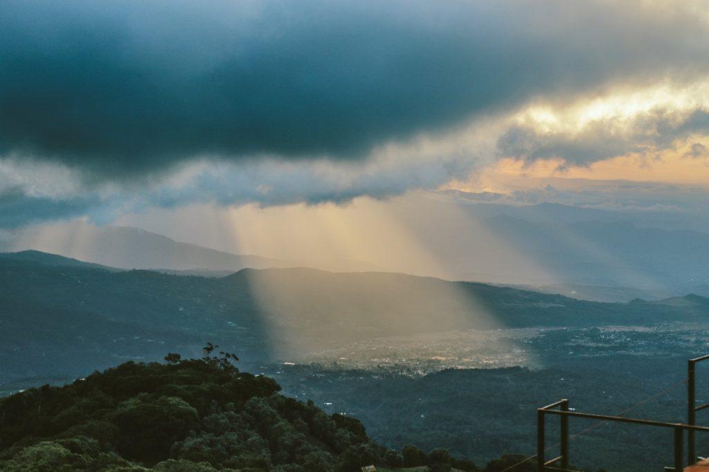 costa rica cloudy